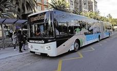 El transporte público de Málaga se refuerza para la procesión magna