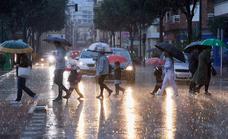 Comunicado oficial de Aemet: precipitaciones generalizadas por la entrada de un frente frío en España