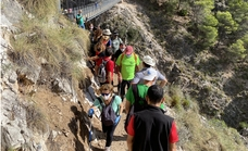 El puente de El Saltillo cumple un año: más de 50.000 visitantes y un 60% más de facturación en los negocios locales
