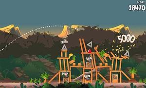 Angry Birds desafía a Mickey Mouse