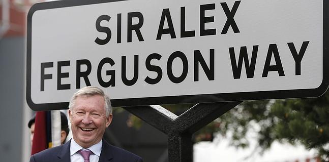 Una calle para sir Alex