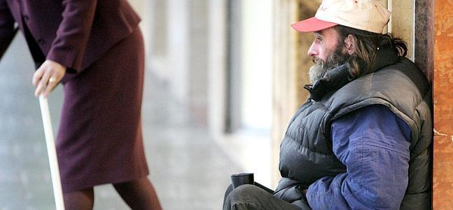 El 23% de las personas sin hogar tiene alguna discapacidad