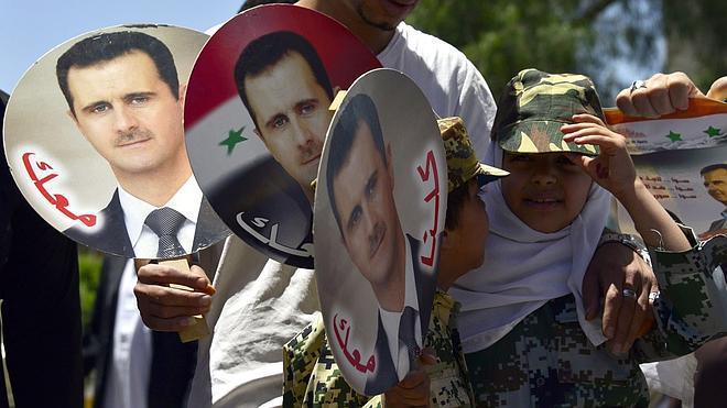 El-Asad alaba la protección de Rusia frente a Occidente en la región