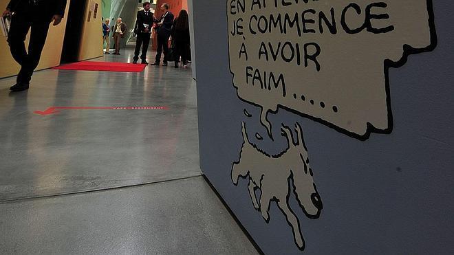 Un original de Tintín vendido en 2,5 millones de euros, nuevo récord para un cómic