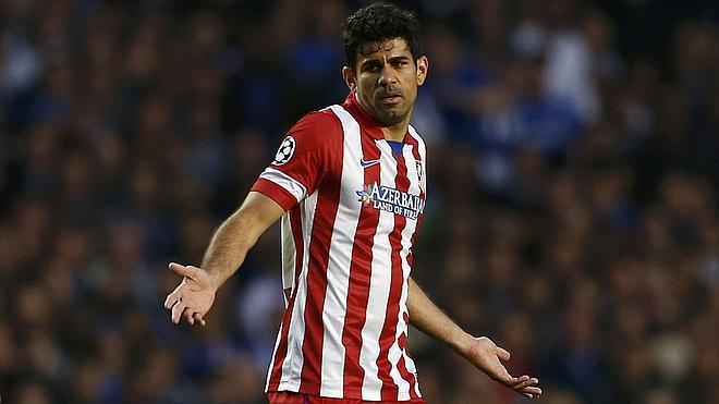 Diego Costa ya ha pasado reconocimiento médico con el Chelsea