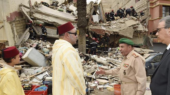 Ascienden a ocho los muertos tras el derrumbe de tres edificios en Casablanca