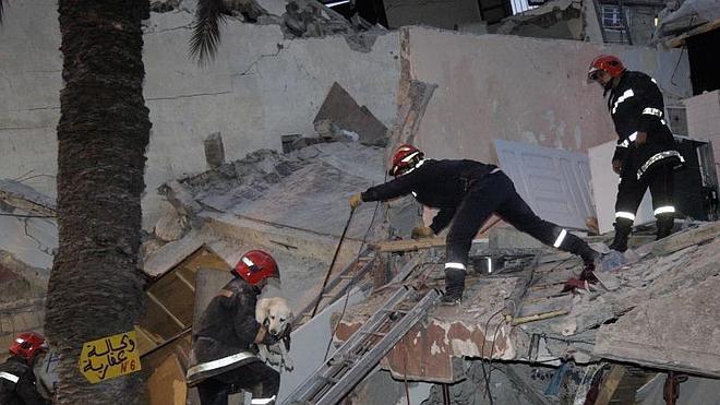 Ascienden a 23 los muertos tras el derrumbe de tres edificios en Casablanca