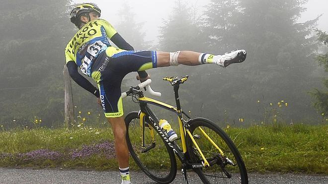 Contador, «adiós a la Vuelta»