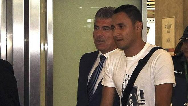 Keylor Navas: «Jugar en el Madrid es una responsabilidad muy grande»