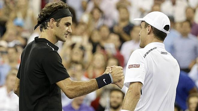 Roberto Bautista se despide del US Open ante Federer