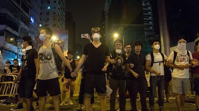 Los manifestantes de Hong Kong se retirarán de algunas de las zonas de protesta