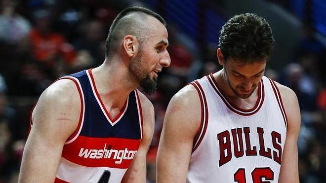 Pau Gasol pierde en el debut con los Bulls