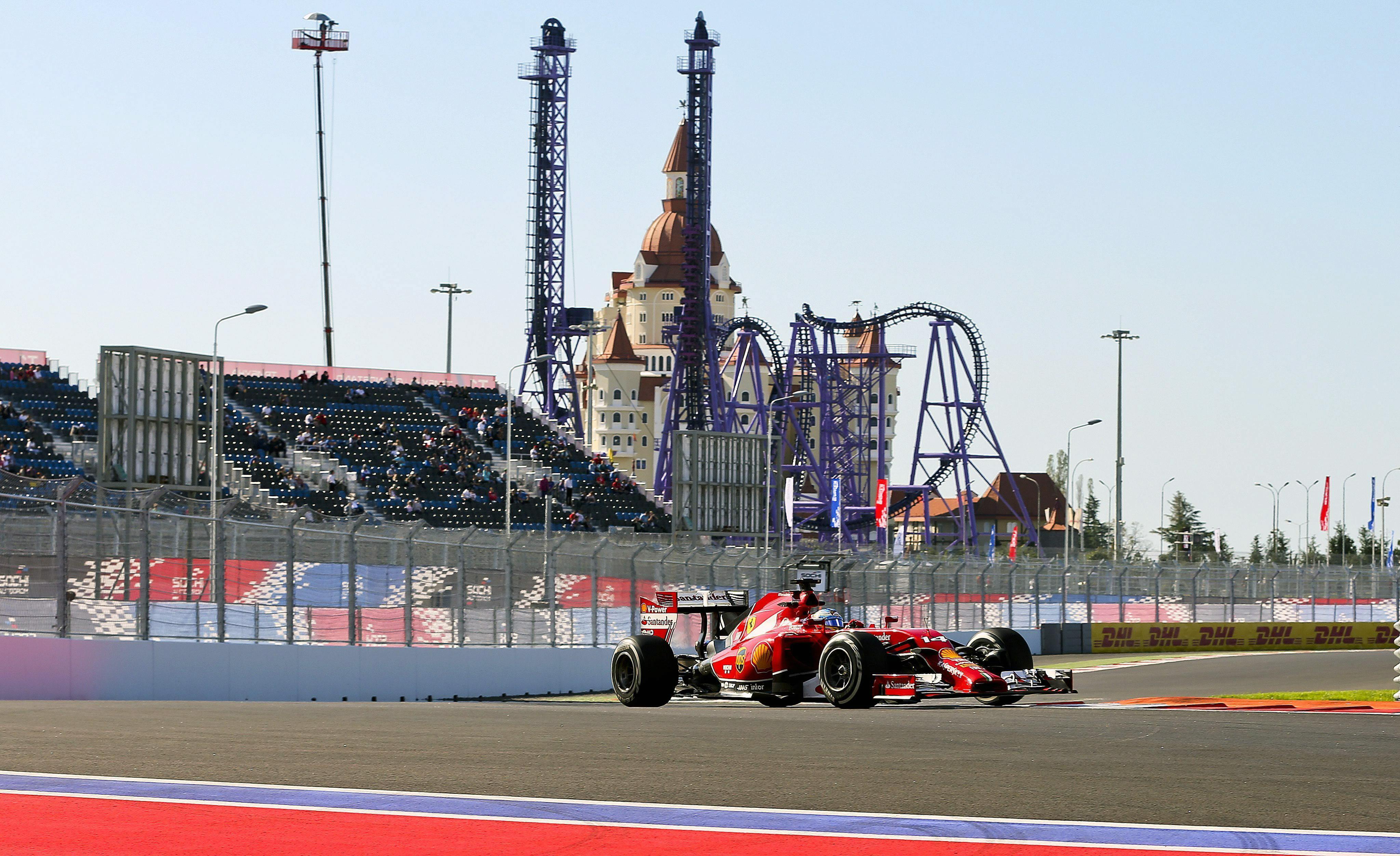 Mercedes se enamora de Rusia