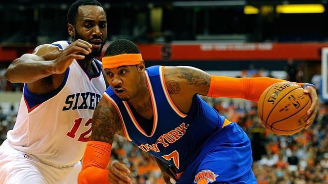 Calderón se queda a cero en la victoria de los Knicks ante los Sixers