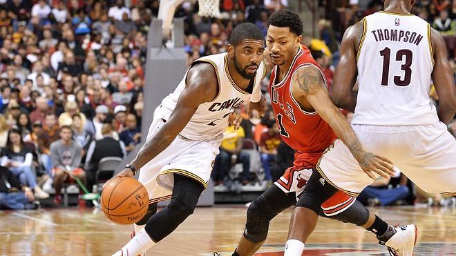 Los Cavaliers se imponen a los Bulls en el gran duelo del este