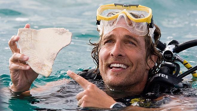 Matthew McConaughey, orgulloso de sus comedias