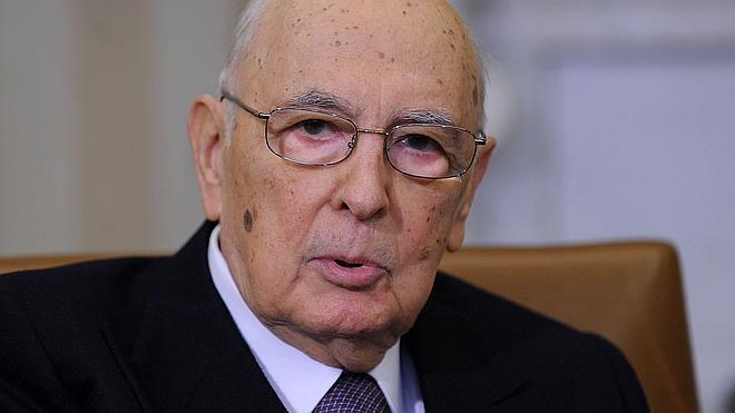 Napolitano, interrogado como testigo en el juicio para determinar si el Estado negoció con la mafia