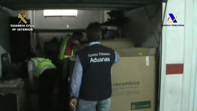 Detienen a 50 personas por contrabando de tabaco