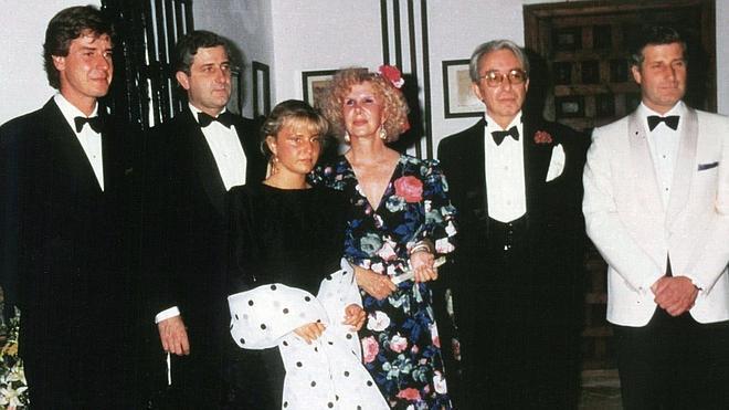 Una familia siempre en portada