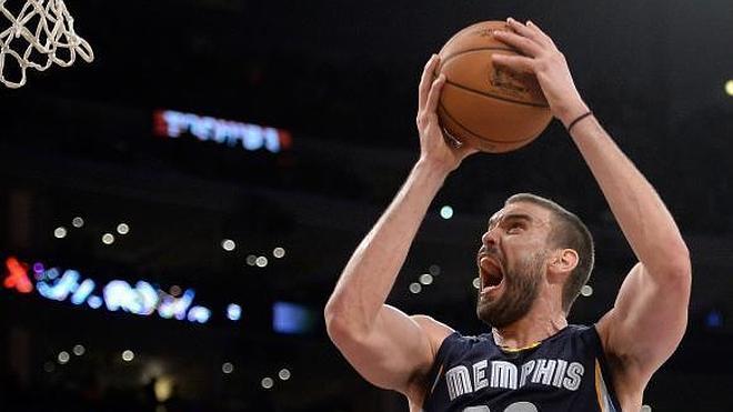 Randolph y Marc Gasol dejan a Grizzlies con la mejor marca de la NBA