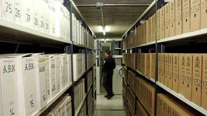 Salen del Archivo de Salamanca los últimos documentos que reclamaba Cataluña