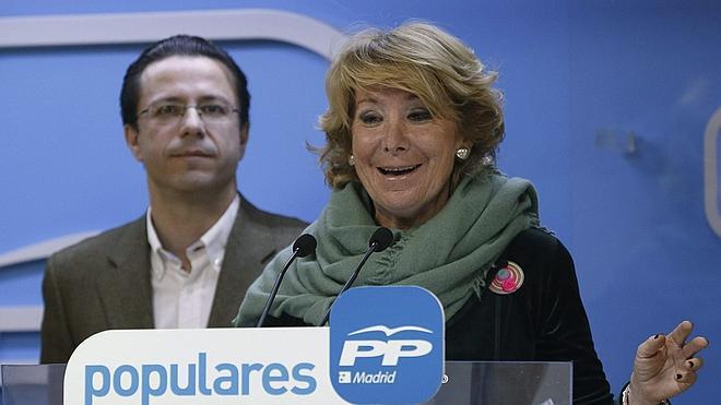 Aguirre se ofrece a Rajoy como candidata a la alcaldía de Madrid