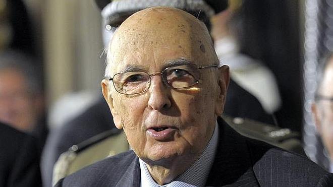Napolitano, el primer presidente reelegido de la República italiana