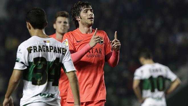 Los suplentes del Barça responden en el trámite