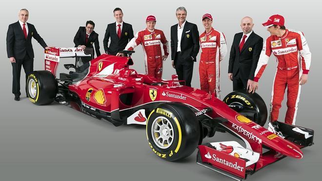 Ferrari busca renacer con el 'sexy' SF15T