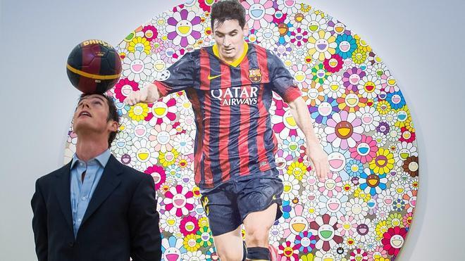 Messi también brilla en las subastas