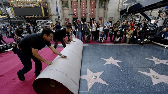 Los Oscar despliegan la alfombra roja