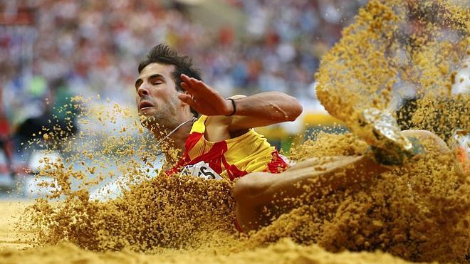 Eusebio Cacéres no competirá en los Europeos de pista cubierta