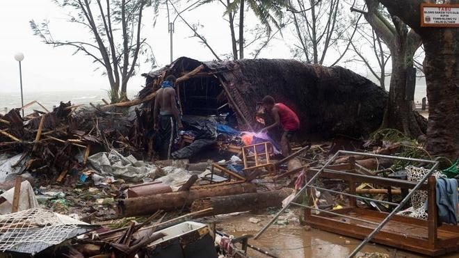 El presidente de Vanuatu llama a la solidaridad tras el ciclón que barrió el archipiélago