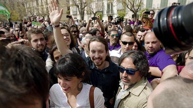 Pablo Iglesias: «Rajoy quiere que en Andalucía ganen los de siempre»