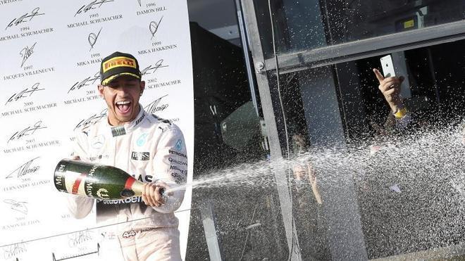 Hamilton: «Es estupendo empezar el año del mismo modo que acabamos el anterior»
