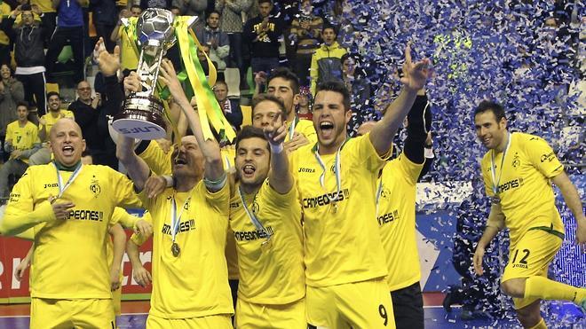 El Jaén, sorprendente campeón de Copa