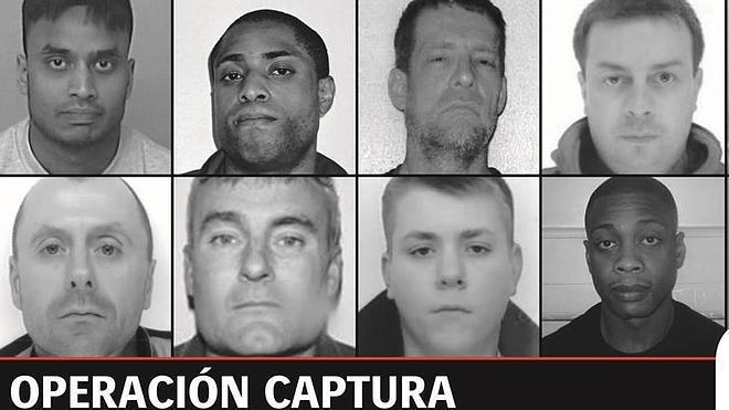 Interior busca en España a diez de los criminales más peligrosos del Reino Unido
