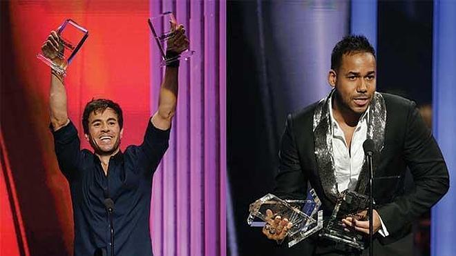 Romeo Santos y Enrique Iglesias arrasan en los Billboard