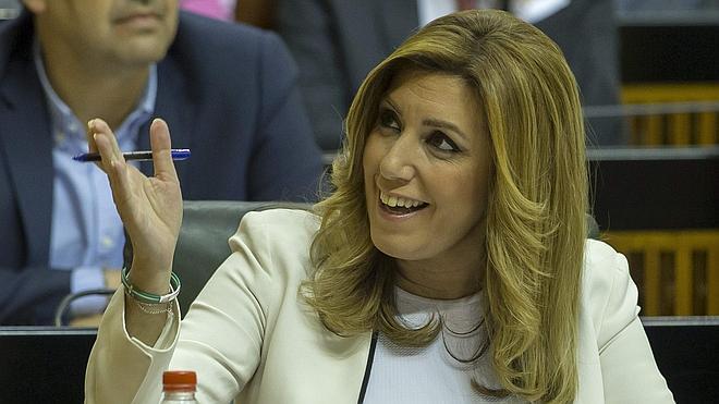 Susana Díaz asegura que nadie le va a «parar el reloj» a Andalucía