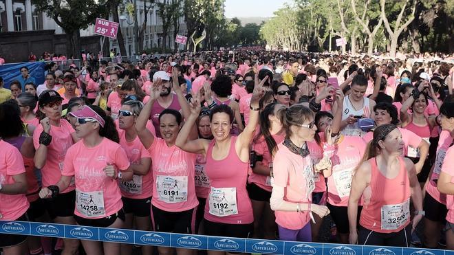 La 'marea rosa' toma las calles de Madrid contra el cáncer de mama