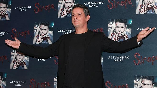 Alejandro Sanz, número 1 con 'Sirope' y todo un récord en ventas