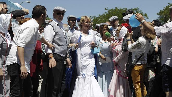 Día de campaña en la pradera de San Isidro