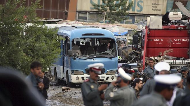 Un atentado talibán deja 70 heridos en el sur de Afganistán