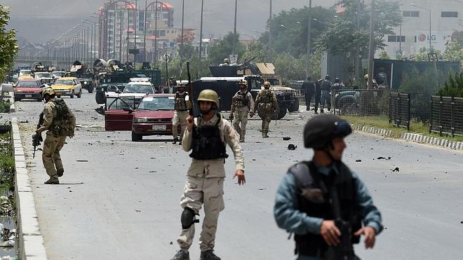 Finaliza el asalto al Parlamento afgano con la muerte de siete talibanes atacantes