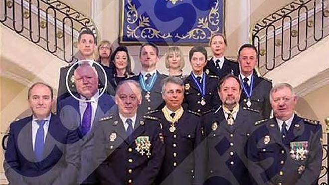 Interior premia con un puesto de 10.000 euros al mes al policía que exculpó a Villarejo