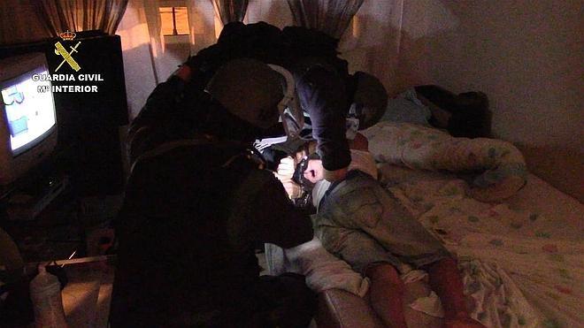 Cuatro detenidos por hacerse pasar por policías y realizar secuestros exprés en Andalucía