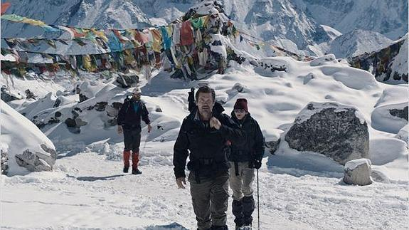 Escena de 'Everest'./