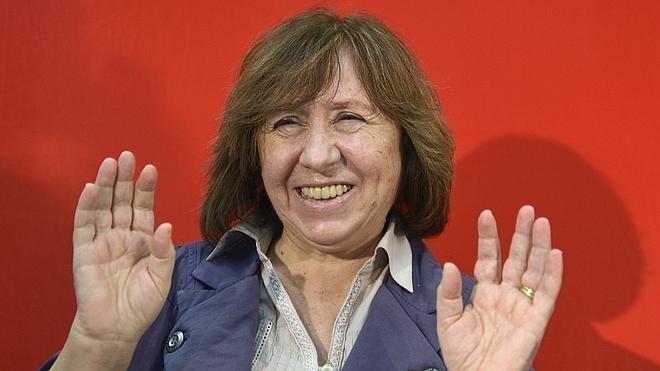 La periodista bielorrusa Svetlana Alexievich gana el Nobel de Literatura