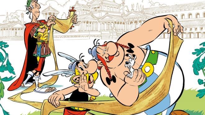 Astérix se enfrenta a la prensa en 'El papiro de César'