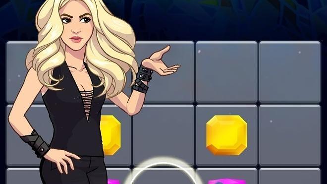 Shakira se une a Rovio y lanza su primer videojuego, 'Love Rocks'